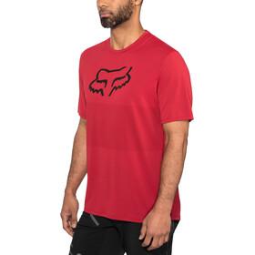 Fox Ranger Foxhead Jersey korte mouwen Heren, cardinal